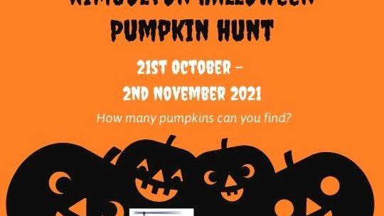 Kimbolton Halloween Pumpkin Hunt